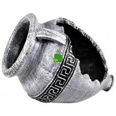 Амфора Меандр 60см серый